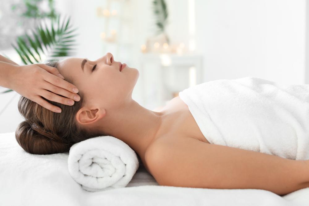 massage für die schönheit