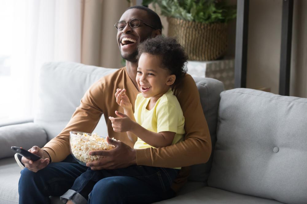 Eltern Kind Fernseher