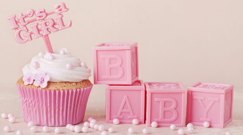 Babyparty in Rosa