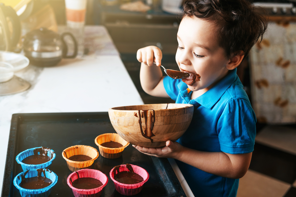 kochen mit kleinkind