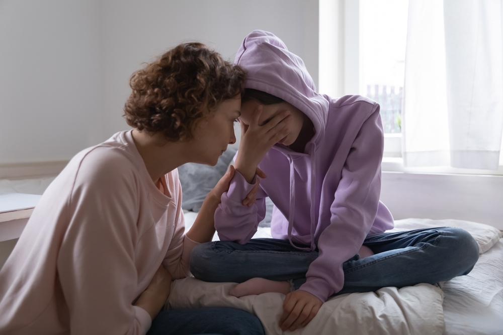 Streit Mutter Tochter