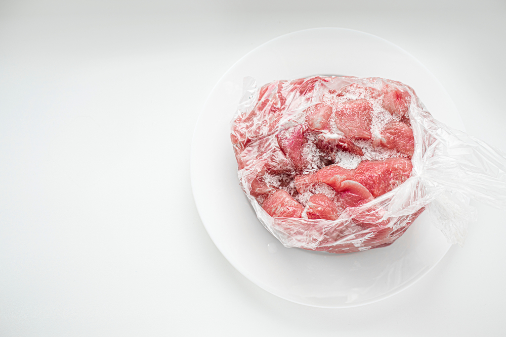 Fleisch gefroren auftauen